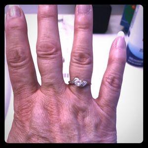 10kt White Gold Ring